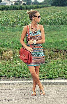 Wearing the Aztec Print Trend in Style - Glam Bistro