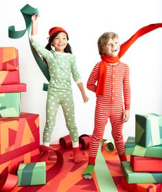 Christmas jim jams! #kids #fashion