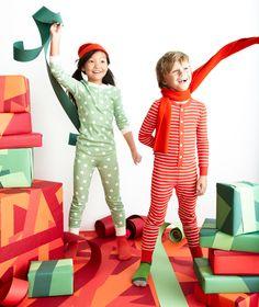 Christmas jim jams! #kids #fashion