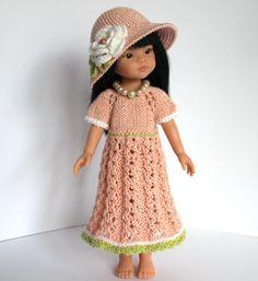 OUTFIT-Puppenkleidung-13-32-36cmPuppe-Set3tlg-NEU-Paola-Reina-Effner-Minouche