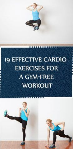 19 Effective Cardio Exercises for a Gym-Free Workout - Womens Health Cardio Routine, Workout Schedule, Stubborn Belly Fat, Lose Belly Fat, Cardio Training, Positive Body Image, Lose Weight, Weight Loss, Wellness