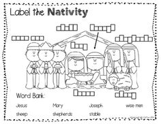Merry Christmas Nativity for FREE. | Christmas | Pinterest ...