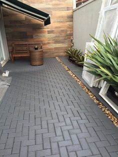 Home Discover 45 attractive paver patio ideas for your backyard 39 Porch Tile Backyard Walkway Paver Designs Concrete Patio Pavers Patio Yard Design Outdoor Living Outdoor Decor Landscape Backyard Walkway, Paver Walkway, Backyard Landscaping, Pavers Patio, Concrete Patios, Porch Tile, Paver Designs, Beton Design, Yard Design