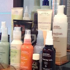 Aveda! Made with natural ingredients that are good for you as well as the environment.