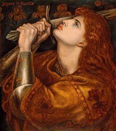 'Juana de Arco', de Dante Gabriel Rosetti
