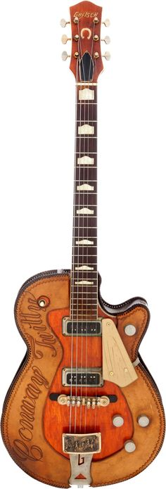 Conway Twitty's 1957 Gretsch Roundup 6130