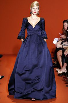 Finally an evening gown with sleeves!  Andrew Gn S/S 2013