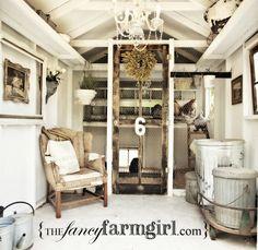 tiny cottage chicken coop :)