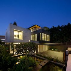Travertine Dream House by Wallflower Architecture + Design, Singapore