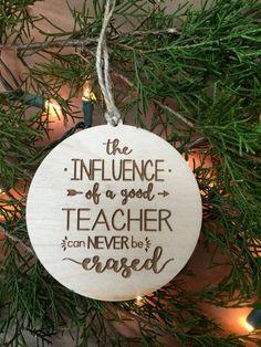 Ornament Teacher Ornament Gift for Teacher Teacher by 9MilesSouth