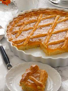 παστα φλωρα Greek Sweets, Greek Desserts, No Cook Desserts, Party Desserts, Sweets Recipes, Greek Recipes, Cookie Recipes, Greek Cake, Greek Pastries