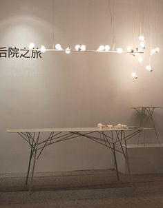 Shanghai designer Zhili Liu has designed a series of lighting inspired by birds. Top image: Sparrow. Above: Nightingale. Called Bird, the bone china sockets hold each bulb at an angle. Above: Doves They can be hung in clusters, attached to a perch or displayed with a shade that represents the bird's cage. Here's some more More