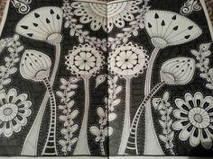 zendoodle flowers - Google Search