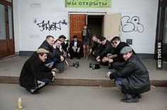 One of them is not a true Slav. Can you spot the Western spy? Slav Squat, Squat Goals, Chris Ware, Bleak House, Russian Memes, Proposal Photography, Overwatch Memes, Russian Fashion, Cursed Images