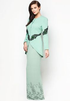Buy Jovian Mandagie for Zalora Chantilly Chantae Baju Kurung ...