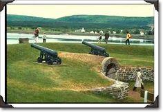 Fort Anne, Nova Scotia,  (the ramparts)