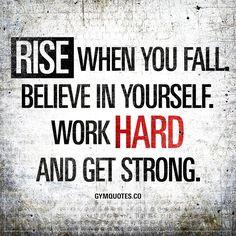 #Day37 Rise when you fall. Mein Abnehmergebnis war nicht so gut, aber davon lass ich mich nicht aufhalten!