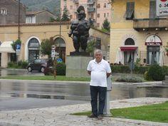 Norik Antonyan my friend - painter - Whit me at Pietrasanta in Toscane - Italy - www.norikantonyan.blogspot.be