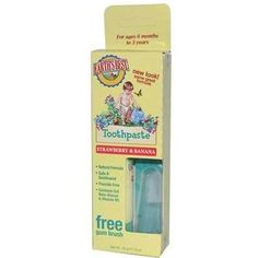 Earths Best Baby Care Tthpst Straw/Ban (1x1.6OZ )