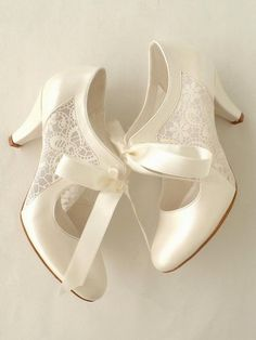 Ivory wedding shoes with transparent lace and satin ribbons Etsy - . Ivory wedding shoes with transparent lace and satin ribbons Etsy – Wedding – Designer Wedding Shoes, Wedding Shoes Bride, Wedding Boots, Bride Shoes, Vintage Wedding Shoes, Vintage Weddings, Wedding Ribbons, Winter Wedding Shoes, Gold Wedding