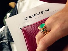 Reem Kanj of Five Five Fabulous Looking Fabulous at Carven-Paris-Fashion-Week-AW13