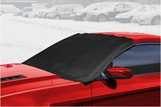 OxGord Windshield Snow Cover Ice Removal Wiper Visor Protector All Weather Winter Summer Auto Sun Shade for Cars Trucks Vans and SUVs Stop Scraping with a Brush or Shovel Car Sun Shade, Car Covers, Shovel, Vans, Ice, Trucks, Weather, Snow, Summer