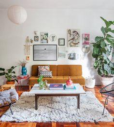 """Histórias de Casa (@historiasdecasa) on Instagram: """"uma coisa é certa: você vai se apaixonar por esse apartamento!!! ♥ a matéria linda e cheia de…"""""""