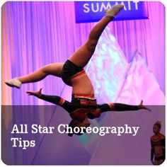 Varsity All Star - Choreography Tips. Presented by the Last Pass  Watch episodes 1 & 2 here: http://varsity.com/event/1787/varsity-all-star-choreography-tips
