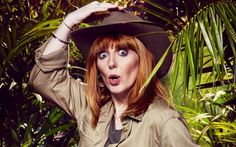 [Copyright: ITV]   There's definitely some kooky characters among this year's I'm a Celebrity cast - Lady C, anyone?! - but we reckon ghost hunter Yvette Fielding may take the biscuit for token oddbal