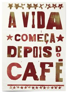 Life starts after coffee ★