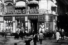 Barcelona, Magatzems Santa Eulàlia 1915.