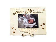 Aceasta Rama Foto Personalizata Nasii Mei 01 este ideala pentru a multumi nasilor, ca si cadou personalizat pentru botez sau cadou pentru aniversare. Frame, Style, Picture Frame, Swag, Frames, Outfits