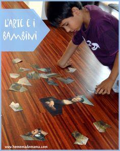Attività artistiche per bambini: i puzzle artistici