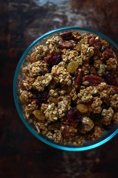 pumpkin spice granola | The Clever Carrot