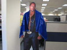 "Dwayne ""The Rock"" Johnson working hard for College of San Mateo and OmniUpdate"