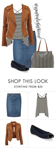 """""""Apostolic Fashions #1299"""" by apostolicfashions ❤ liked on Polyvore featuring Gerry Weber Edition, Dorothy Perkins, Jack Rogers and Sole Society"""