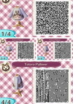 Animal Crossing New Leaf Totoro sweater!