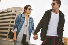 Nordstrom his/hers outfit #couplesfashion #fashion #fall #jessakaephotography www.jessakae.com