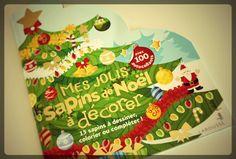 Mes jolis sapins de Noël à décorer - Editions Larousse