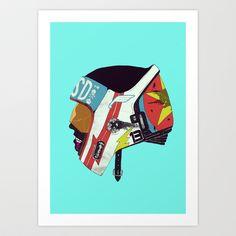 Runaway II Art Print by Boneface - $22.88