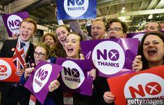 "Escocia decide que ""No"""