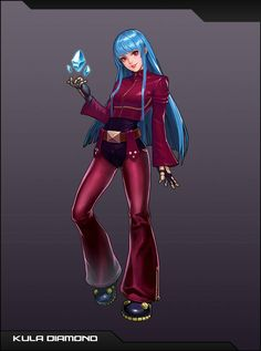 First Appeared as The Sub-boss in The King of Fighters She enters as a normal participant in subsequent appearances. Game Character, Character Design, Kula Diamond, Cyberpunk, Snk King Of Fighters, Mundo Dos Games, Hero World, Mobile Legend Wallpaper, The Future Is Now