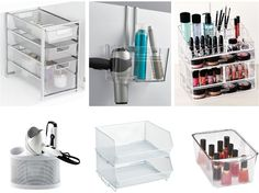 The best storage solutions for hair & beauty products