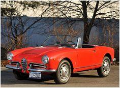 1962 Alfa Romeo Giulia 1600 Spider