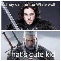 Jon Snow Vs Witcher