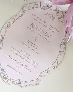 John Tyler, Stationery Items, Two By Two, Invitations, Wedding, Valentines Day Weddings, Save The Date Invitations, Weddings, Marriage