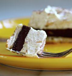 Chocolate Tart with Coffee Mascarpone Cream