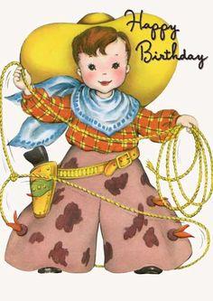 Birthday Cowgirls