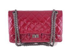 Chanel | Chanel Raspberry Dark Pink Pat...