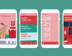 Reindear - A Christmas App Gfx Design, Page Design, Cover Design, Identity Design, Brochure Design, Identity Branding, Corporate Identity, Visual Identity, Web Layout